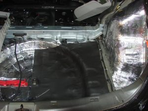 Sada odhlučnenia – celé auto